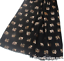 Elephant gold foil print ladies Scarf Sarong Elephant lover gift CHOICE COLOURS