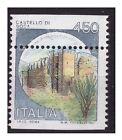 1980 - CASTELLI 450 LIRE DENTELLATURA SPOSTATA NUOVO **
