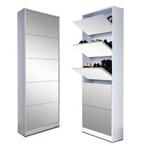 Awesome Image Is Loading Wood Shoe Cabinet Storage Cabinet Shoe Rack With  Part 18