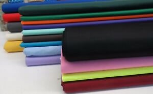 Plain-Thick-Cotton-Drill-Workwear-Twill-Fabric-Superior-Quality-60-034-150-cms-Wide