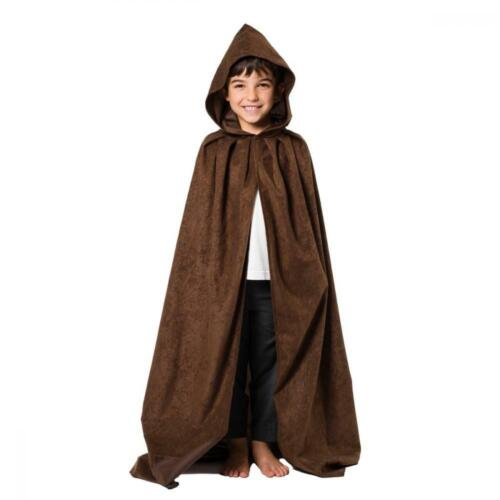 Charlie Crow Cloak or Cape with Hood for Kids 7-9 Years8 Colours