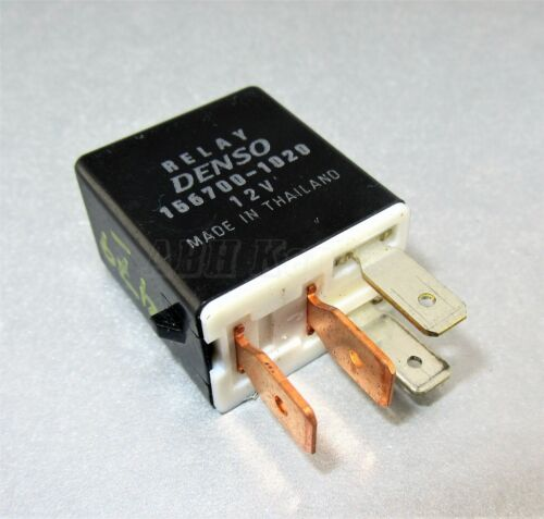 479-DAIHATSU SUBARU 4-Pin multi uso Nero RELAY DENSO 156700-1020 12 V 1567001020