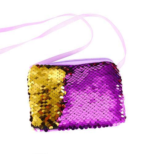 Children Kids Girl Shoulder Crossbody Bag Messenger Sequin Fashion Small Bag