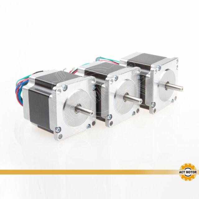 5PCS 23HS6620 Nema23 1.8° Stepper Motor  φ6.35mm 56mm 1.26Nm 2A 6Wires CNC Mill