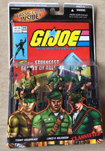 GI Joe Comic Pack #26- 3 Pack -Tommy Arashikage Lonzo Wilkinson Classified -2005