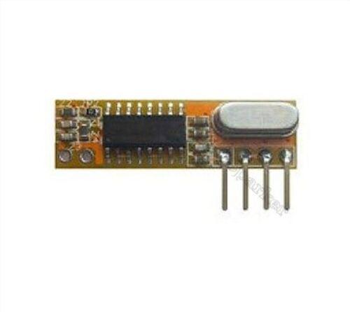 10Pcs Rf Receiver Module Ttl Ask 433Mhz Superheterodyne DC3.3-5V RXB12 New Ic fv