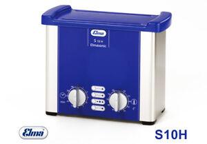 Elmasonic S10 H Ultraschallreiniger Mit Heizung 0,9 Ltr Ultraschallbad Von Elma