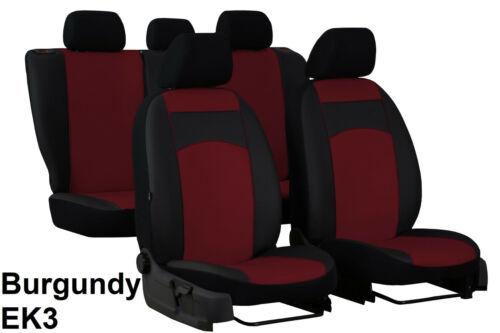 VOLKSWAGEN CADDY 7 SEATS 2004-2015 ARTIFICIAL LEATHER TAILORED SEAT COVERS