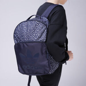 Image is loading Adidas-Originals-Classic-Graphic-Backpack-Rucksack -Work-Sports- c8dabe9b3b5f6