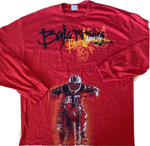 Baja 1000 Racing Long Sleeve Shirt XL Ensenada Mex