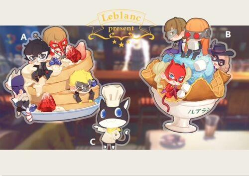 P5 Persona5 Morgana Chef /& Sweets Scene Anime Acrylic Desk Stand Figure Display