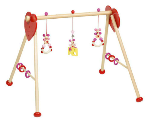 Baby-Fit-Spieltrainer MAUS rosa pink Fitnesscenter Gymnastikcenter Spielcenter