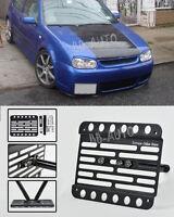 For 98-05 Volkswagen Gti Mk4 Front Bumper Tow Hook License Plate Mount Bracket