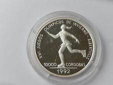 1000 Cordobas Nicaragua 1990 Silber PP Eistanz 1992