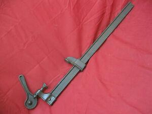 Antique-Primitive-Bar-Clamp-Wooden-Vintage-Wood-Working-Tool