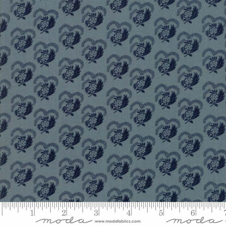 Regency Sussex Fabric #42336-20 French Inspired Floral and Toile Premium Cotton