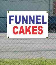2x3 Funnel Cake Red White Amp Blue Banner Sign New Discount Size Amp Price