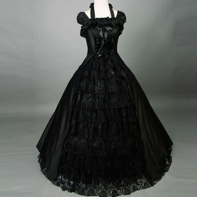 Plus Size 1950\'s Vintage Ball Gown Wedding Dress Gothic Bridal Gown Custom  Mada