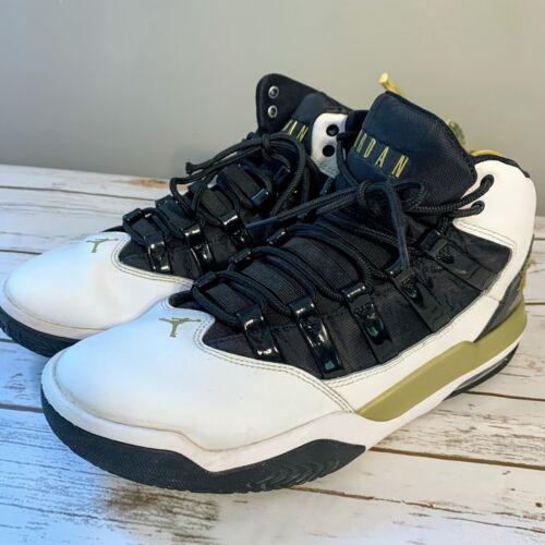 Jordan Nike Max Aura Men's Basketball Shoes White/