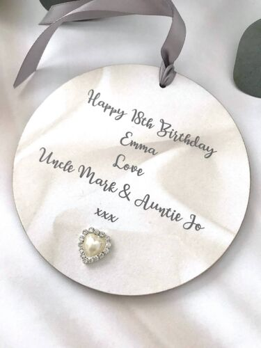 Personalised 18th Birthday Gift Keepsake Sign Plaque Wall Hanging P183