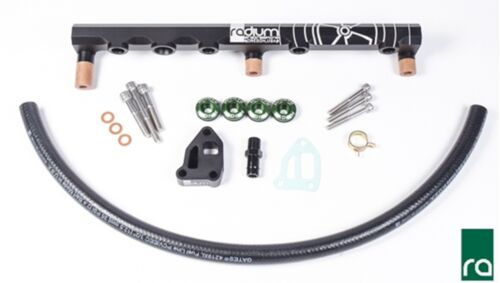 Radium 20-0359 Top Feed Fuel Rail Kit for Nissan SR20DET S14 S15-8AN 14mm Tops