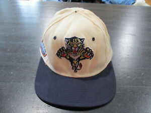 VINTAGE-Sports-Specialties-Florida-Panthers-Fitted-Hat-Cap-Size-7-1-8-Hockey-90s