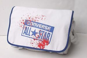 b9b66d6a2674 Image is loading Converse-Buckle-Flap-Bag-Canvas-White