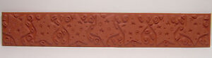 Mini-STAR-DESIGN-Polymer-Clay-Molding-Mat-Texture-Rubber-Stamp-for-Paper-amp-Clay