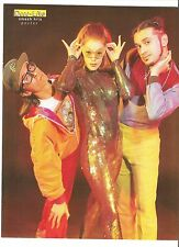DEEE-LITE catwoman magazine PHOTO/Poster/clipping 11x8 inches