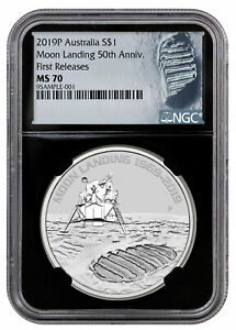 2019-P-Aust-Apollo-11-Moon-Landing-1oz-Silver-1-NGC-MS70-FR-Black-Core-SKU57692