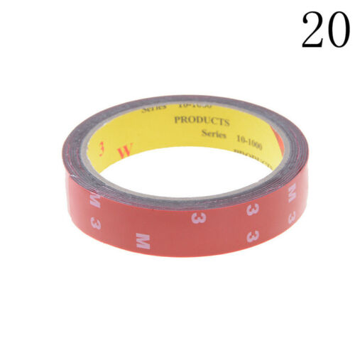 Strong Permanent Double-Sided Sticky Adhesive Glue Tape With Red Liner 3m Pip
