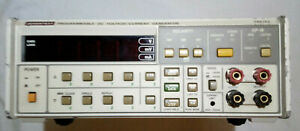 ADVANTEST TR6142 PROGRAMMABLE DC VOLTAGE/CURRENT GENERATOR GPIB