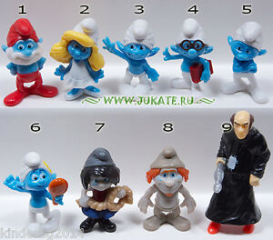 Schleich Smurfs The Lost Village Collectible Figures Set #20802 NIB