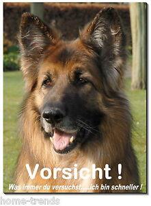 Besorgt Deutsch-schäferhund-hund-alu-schild-0,5-3mmdick-türschild-warnschild-hundeschild Diversifiziert In Der Verpackung Möbel & Wohnen