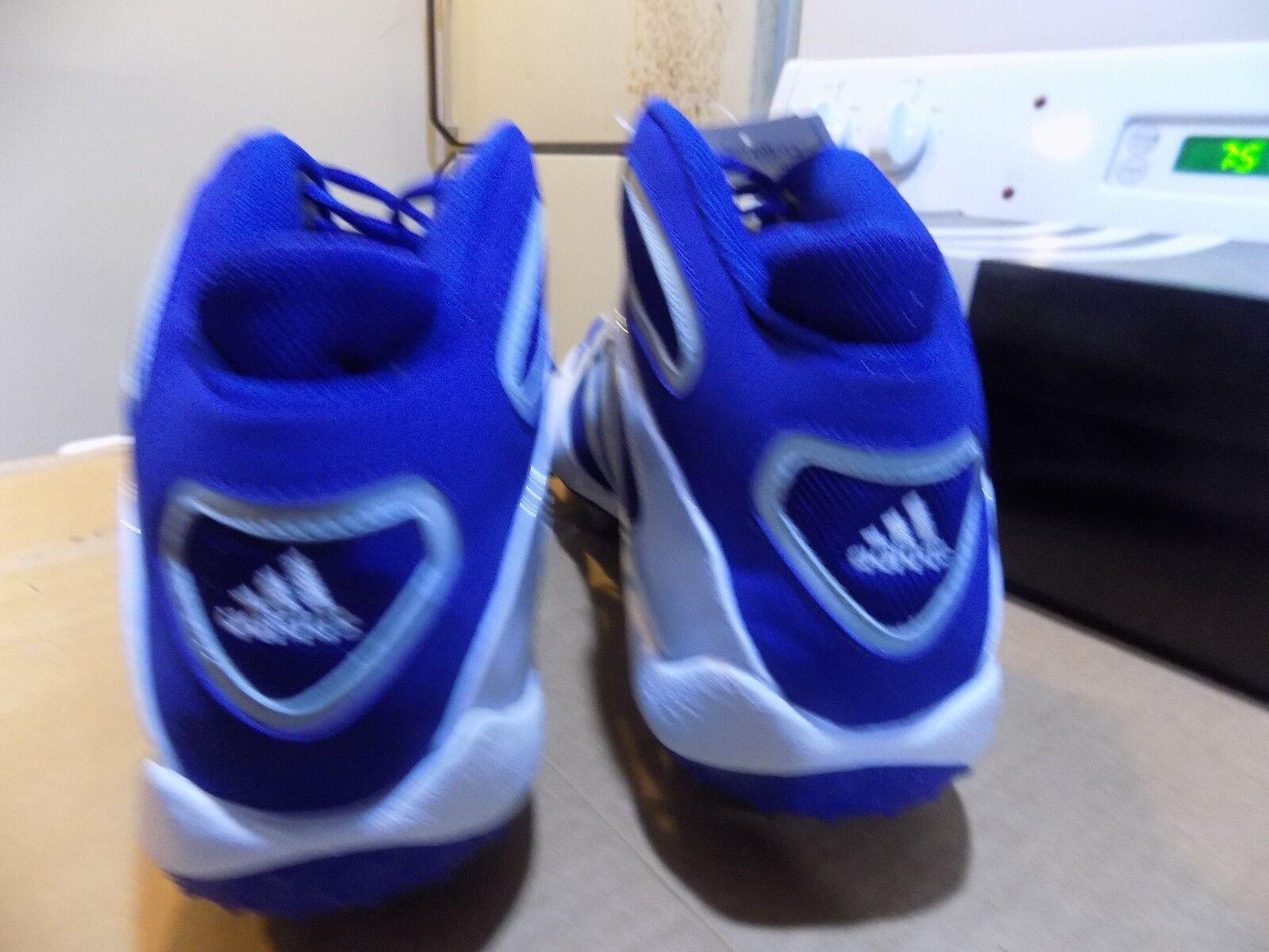 Adidas difesa aeroporto s mid - lacrosse / / / calcio calcio - volume 7 white roy blu d08f05