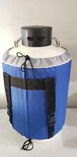 10 L Liquid Nitrogen Tank Cryogenic Dewar Container Tank Semen Tank Us Solid