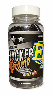 Stacker 2 E2 Xtreme by NVE Pharmaceuticals 100 Capsules - Alert Focused & Energy