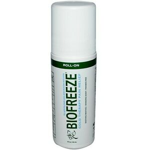 Biofreeze-Pain-Relieving-Gel-Cold-Therapy-3oz-Roll-On-Pack-of-1
