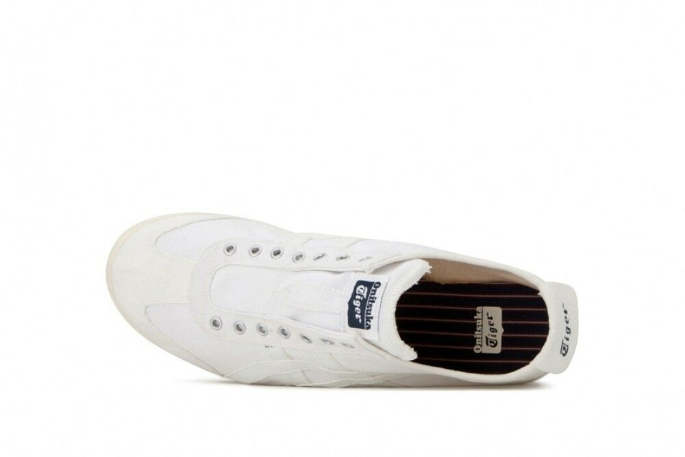 Asics Japan Onitsuka Tiger MEXICO 66 SLIP-ON TH528N White White White X white 544b44