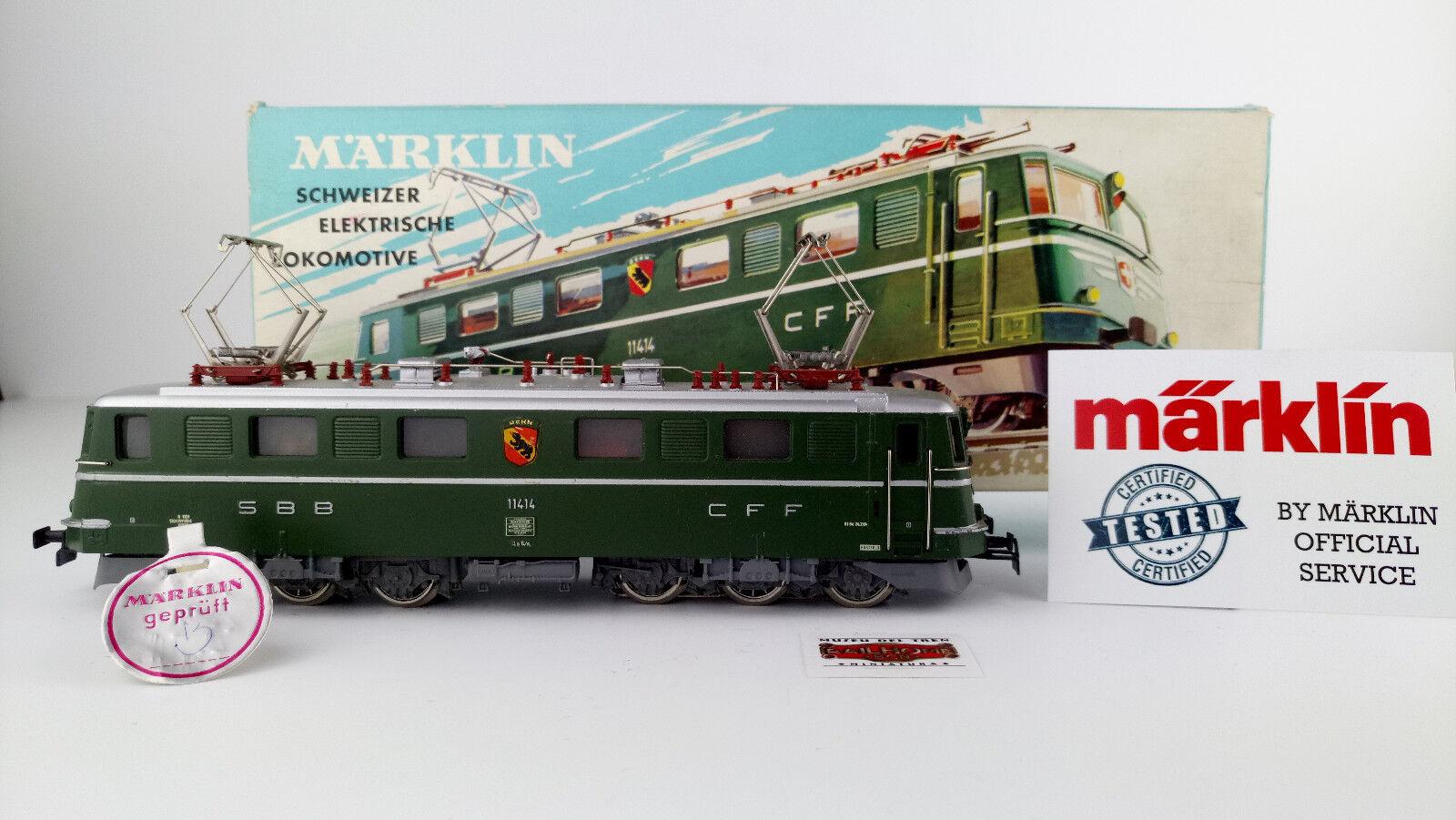 MARKLIN H0 3050 - E-LOK SBB-CFF - TESTATO - MOLTO BUON STATO - ÖVP - PRUFSIEGEL