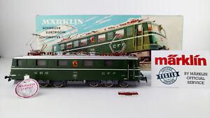MARKLIN-H0-3050-E-LOK-SBB-CFF-TESTADO-MUY-BUEN-ESTADO-OVP-PRUFSIEGEL