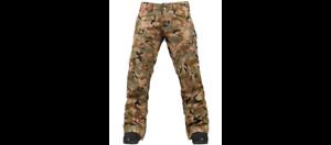 BURTON-Women-039-s-MOSAIC-Gore-Tex-Snow-Pants-Olive-Painted-Camo-Large-NWT
