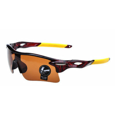 Men's-Cycling-Sunglasses-Driving-Vintage-Outdoor-Sports-Eyewear-Glasses-UV400 CJ
