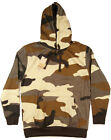 PJ Mark, Men's Camouflage Hoodie w/ Pocket, Dessert Camo, M-2XL