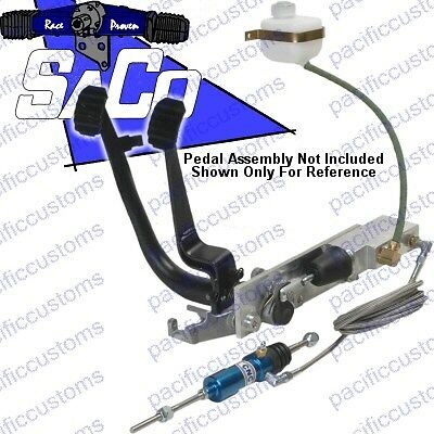 Clutch Cable Hydraulic Conversion Kit For Vw Beetle, Trike, Dune Buggies, Manx