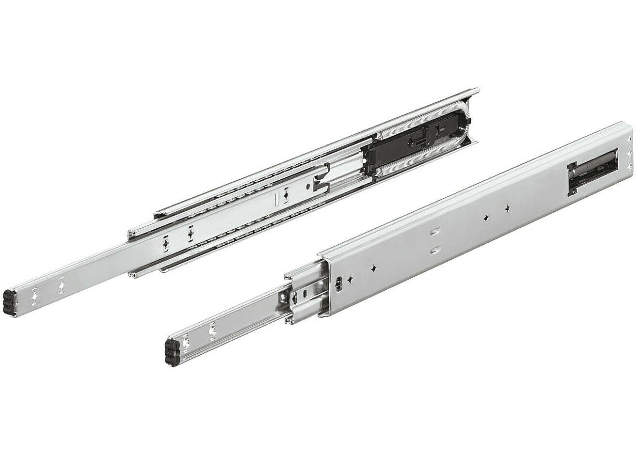 Drawer rail Accuride 5417-EC Full extension Ball guide soft close Damping