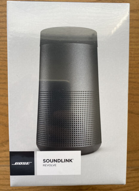 Bose 739523-1110 SoundLink Revolve Bluetooth Wireless Black NEW IN BOX (NIB)