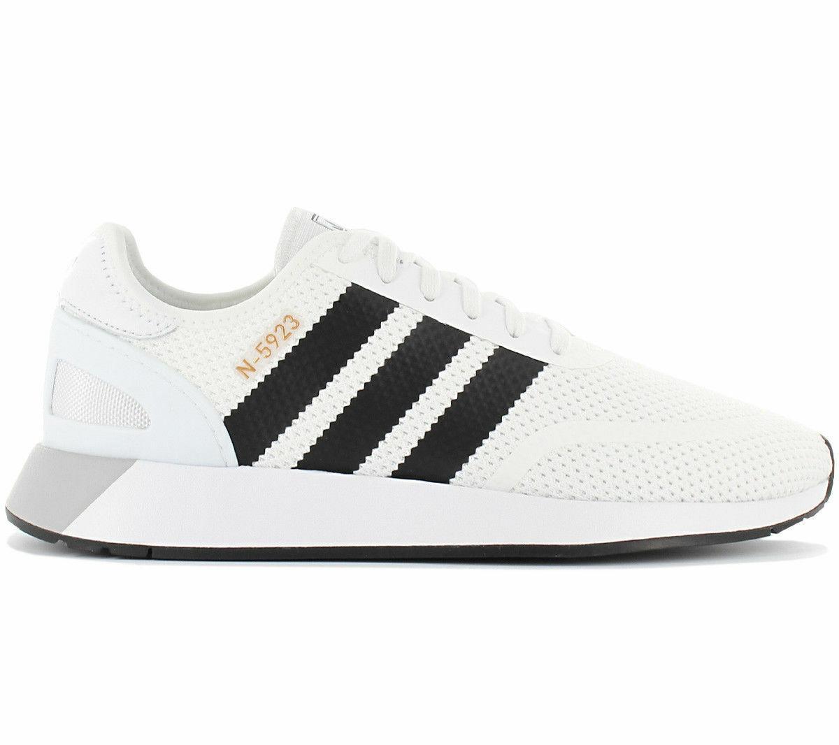 Adidas Original Iniki Runner N-5923 shoes Running White Black AH2159