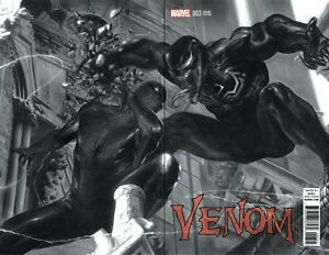 Venom-3-Marvel-2017-Gabriele-Dell-039-Otto-B-amp-W-Wrap-Variant-Spider-Man-Encounter