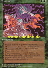 Blutzoll (Channel) Magic limited black bordered german beta fbb foreign deutsch